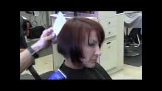 getlinkyoutube.com-Elena's Long to short haircut video Part 1