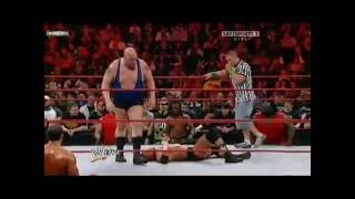 getlinkyoutube.com-Triple H vs. Big Show [No Disqualification Lumberjack Match] Part 2
