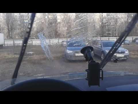 Работа стеклоочистителей УАЗ Патриот-2.
