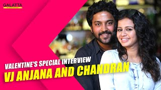 getlinkyoutube.com-Valentine's Special interview - VJ Anjana and Chandran