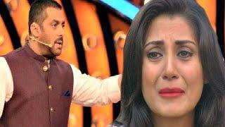 getlinkyoutube.com-Bigg Boss 9 - Salman Khan Makes Rimi Sen CRY!