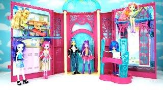 getlinkyoutube.com-My Little Pony - Escuela Canterlot High  Juguete + DJ PON3| Canterlot High Playset