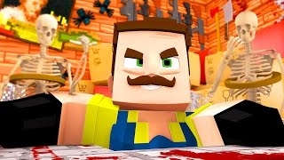 getlinkyoutube.com-WHATS IN THE ATTIC!? | Hello Neighbor Minecraft Roleplay