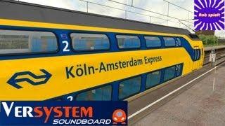 getlinkyoutube.com-LET´S PLAY Train Simulator 2014 | Folge 99 | Köln-Amsterdam Express