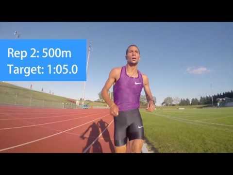 Taoufik Makhloufi - Crazy Speed Workout