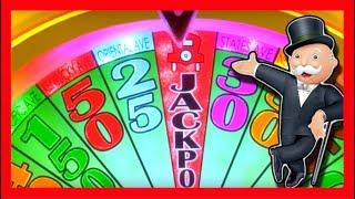getlinkyoutube.com-LIVE PLAY on Monopoly Luxury Diamonds Slot Machine with Bonuses