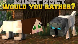 getlinkyoutube.com-Minecraft: WOULD YOU RATHER?! (WEIRDEST QUESTIONS EVER!) Mini-Game