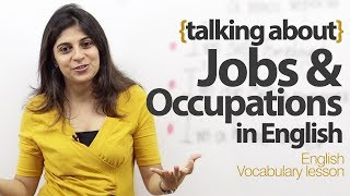 getlinkyoutube.com-Talking about Jobs and Occupations in English - Free English Lesson