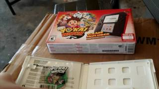 getlinkyoutube.com-Unboxing 2ds with yokai watch 2 bony spirits part 1