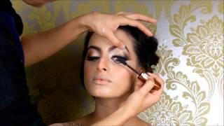 getlinkyoutube.com-Asian bridal Makeup tutorial  by Shabana M Makeup 2015