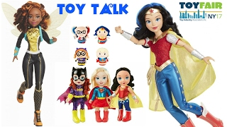 getlinkyoutube.com-NEW YORK TOY FAIR 2017 DC SUPER HERO GIRLS DOLLS, MONSTER HIGH FAMILY & PULLIP DOLLS