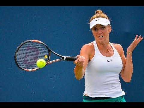 2016 Connecticut Open   Elina Svitolina vs Johanna Larsson   WTA Highlights