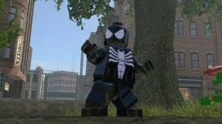 getlinkyoutube.com-LEGO Marvel Super Heroes (PS4) - All Spider Man Characters and Vehicles (DLC Included)