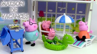 getlinkyoutube.com-Peppa Pig Maison de vacances Holiday Sunshine Villa Playset ♥ Jouets de Peppa Pig en francais