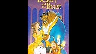 Closing To Beauty And The Beast 1992 VHS (Version #1)