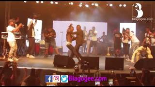 Pataapa And Lil Win Perform One Corner Dance At BHIM Concert