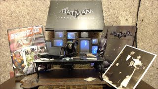 getlinkyoutube.com-Batman Arkham Origins Collector's Edition Unboxing