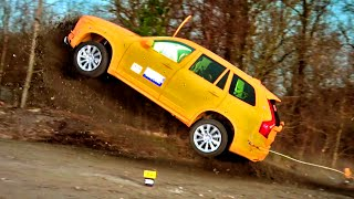 getlinkyoutube.com-Crashing The Volvo XC90  - Fifth Gear