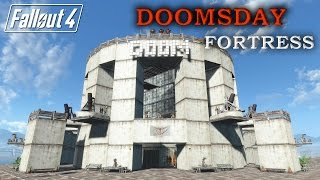 Fallout 4 - Settlement | Doomsday Mega Fortress | Ultimate Defense | No Mods