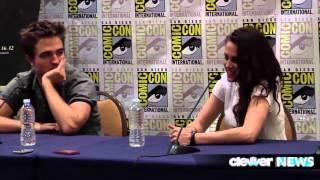 Kristen Stewart Talks Sex Scenes with Rob Pattinson in Breaking Dawn Part 2!