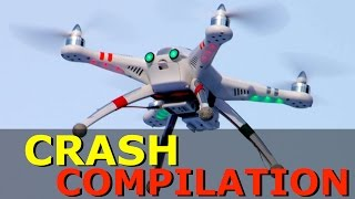 DRONE CRASH COMPILATION