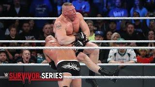 Goldberg vs. Brock Lesnar: Survivor Series 2016 on WWE Network width=