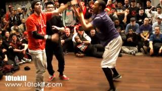 Minnesota Joe & Flexum Vs Morris & Gravity - RAW CIRCLES 2011 - Quarter Final - HD