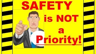 getlinkyoutube.com-Safety is NOT a Priority - Safety Training Video - Preventing Workplace Accidents and Injuries