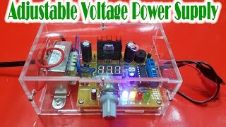 getlinkyoutube.com-How to Assembling LM317 Adjustable Voltage Power Supply KIT DIY