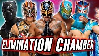 getlinkyoutube.com-Rey Mysterio VS Kalisto VS Lince Dorado VS Black Panther VS Sin Cara VS Ultimo Dragon (WWE 2K17)