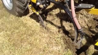 Switzerland Claydon Direct Strip Till Drilling into Grass