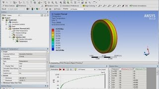 getlinkyoutube.com-ANSYS Transient Thermal Tutorial - Convection of a Bar in Air