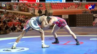 getlinkyoutube.com-Kyle Dake vs. Jordan Burroughs