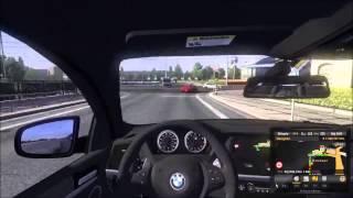 getlinkyoutube.com-Euro Truck Simulator 2 - BMW X6 M