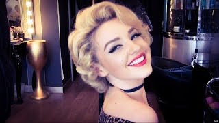 getlinkyoutube.com-Authentic Marilyn Monroe Wet Roller Hair Set