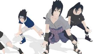 getlinkyoutube.com-[MMD] 4 Sasuke - Shake it off (Naruto)
