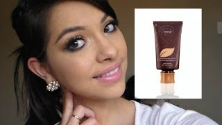 getlinkyoutube.com-First Impression Of the Tarte Amazonian Clay Foundation!