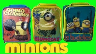getlinkyoutube.com-Minions Movie 2015 Mega Lunch Box Toy Surprises