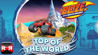 getlinkyoutube.com-Blaze and the Monster Machines - Top of the World - iOS Gameplay Video