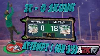 getlinkyoutube.com-21-0 Skunk Attempt On 3's !   J Money x EddieTV   NBA 2K17 MyPARK