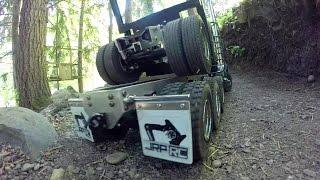getlinkyoutube.com-JRP RC - The Tri Drive 8X8 King Hauler Log Truck