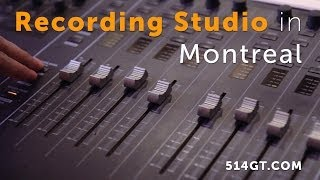 montreal recording studio - great things studios