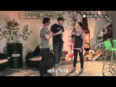 IndioTV: Vive Latino - The Pinker Tones