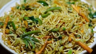 getlinkyoutube.com-Veg Noodles Recipe   Veg Chow Mein   Vegetable Noodles