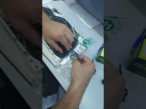 Ремонт панели приборов Lexus rx350 2008 снятие стрелок