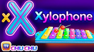 Phonics Song (Xylophone Version) - A For Apple - ABC Alphabet Songs with Sounds for Children width=