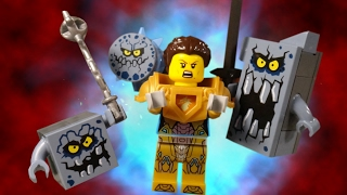 getlinkyoutube.com-LEGO NEXO KNIGHTS - STONE MONSTER ATTACK!!!