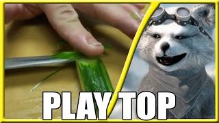 #REACT - Pessoas Rápidas com Facas! Incrível Habilidade com as Facas! (Play TOP)