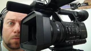 Unboxing a New Sony HXR-NX5U Digital HD Professional Video Camera
