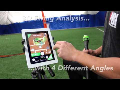 Baseball bat sensor quick view - Swing Tracker by Diamond Kinetics